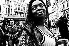 Close Up Brussels (Victor Borst) Tags: brussels brussel bruxelles street streetphotography streetlife reallife real realpeople faces face blackandwhite bw travel travelling trip traveling urban urbanroots urbanjungle mono monotone monochrome beautiful beauty belgium belgie candid fuji fujifilm city cityscape citylife expression expressions xpro2
