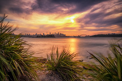 Sydney Summer Sunsets (luaP_Paul) Tags: sydney sunset coast australia sun evening water sea rocks clouds 2018