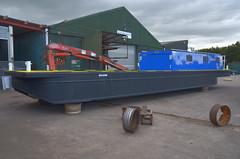 Cheshunt (Sam Tait) Tags: working boat cheshunt canal river trust british waterways 4000527 fassi f40 crane hi ab lifting lifter boom