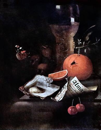 IMG_1226 Martinus Nellius + vers 1706 Stillleben Still Life. Nature morte Schwerin.Staatliches Museum