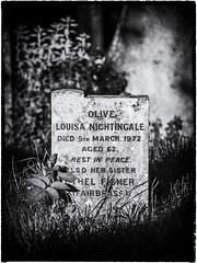 Gravestone, St. Nicholas at Wade church (Aliy) Tags: kent stnicholasatwade churchyard grave gravestone headstone graveyard