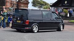 2018 Volkswagen Transporter T32 Tsi (>Tiarnán 21<) Tags: t6blk t6 blk black van petrol man people sky road