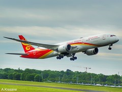 HAINAN AIRLINES B787 B-6969 (Adrian.Kissane) Tags: airline airliner ireland departing flying takeoff 787 boeing dreamliner grass sky outdoors aircraft aeroplane jet plane dublinairport b787 39773 1662019 b6969 dublin hainan