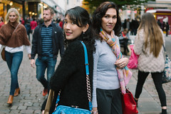 Walking On Market Street (* Hazman Zie *) Tags: sony rx1 sonyrx1 zeiss sonnar 35mm zeisssonnar35mm mirrorless cybershot manchester england marketstreet
