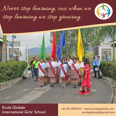 Ecoleglobale School (ecoleglobalschool) Tags: ecoleglobale career bestoftheday boardingschool students studentslife success schools dehradun education edtech future girls girlrising globaled hardwork highered child india kids learning motivation memories tuesday opportunity girlsrally