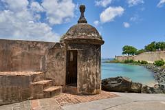 Garita de vigía (guillecabrera) Tags: garita vigia sentry outlook muralla wall oldsanjuan spanishcolonial beach port nautical puertorico sony ayiii tamron 2875mmf28e