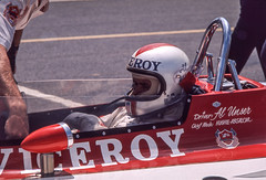 Al is in the car and ready to race (brooklandsspeedway) Tags: poconoraceway pocono pennsylvania indycar