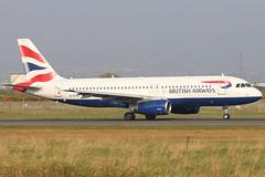 G-EUYA_01 (GH@BHD) Tags: geuya airbus a320 a320200 a320232 ba baw britishairways speedbird shuttle unionflag bhd egac belfastcityairport aircraft aviation airliner