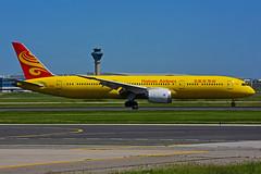 B-7302 (Hainan AL -  ex yellow KUNG FU Panda) (Steelhead 2010) Tags: hainanairlines boeing b787 b7879 yyz breg b7302