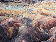 Death Valley Badlands (craigholloway) Tags: deathvalley nationalpark usa california desert badlands zabriskiepoint zabriskie hot telephoto landscape sony