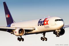 N109FE - FedEx 767F | CDG (Karl-Eric Lenne) Tags: n109fe cdg fedex first landing 27r hub europe paris america 767 boeing 767f 7673s2f 2019