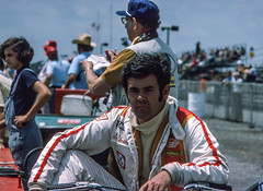 Al is just relaxing in the pits (brooklandsspeedway) Tags: poconoraceway pocono pennsylvania indycar