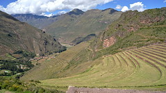 Terraces up to the sky (Chemose) Tags: sony ilce7m2 alpha7ii avril april pérou peru pisac paysage landscape vallée valley valléesacrée sacredvalley terrasse terrace inca montagne mountain hdr andes