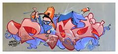 Graffiti XXVII (Harald52) Tags: graffiti kunst technik malerei grafik