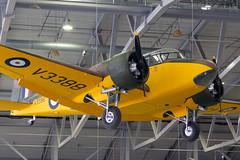 G-AHTW V3388 Airspeed Oxford / Consul I - Duxford (benallsup) Tags: aviation aircraft plane flying fly aeroplane duxford iwm museum cambridgeshire vintage old gahtw v3388 airspeed oxford consul i prop