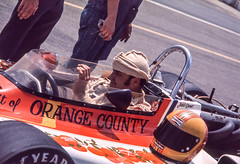 Jerry Grant is making some final adjustments (brooklandsspeedway) Tags: poconoraceway pocono pennsylvania indycar