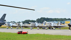 Van's Aircraft RV-8 registration (left to right) G-CIBM, G-EGRV, G-CJSM & G-VFDS (Erwin's photo's) Tags: luchtmachtdagen 2019 klu volkel the netherlands holland airshow aircraft air force days royal aviation vans rv8 registration left right gcibm gegrv gcjsm gvfds