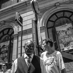 Broad Street, 2018 (Alan Barr) Tags: philadelphia 2018 broadstreet pifa street sp streetphotography streetphoto blackandwhite bw blackwhite mono monochrome candid city p gx85