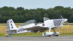Van's Aircraft RV-8 c/n PFA 303-14637 registration G-VFDS code 1 (Erwin's photo's) Tags: luchtmachtdagen 2019 klu volkel the netherlands holland airshow aircraft air force days royal aviation vans rv8 cn pfa 30314637 registration gvfds code 1