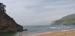 Mañana  con  tiempo  primaveral  en este día con muy buena temperatura (  Playa la arena) (eitb.eus) Tags: eitbcom 41476 g1 tiemponaturaleza tiempon2019 bizkaia muskiz juanguerrero