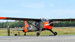 De Havilland Canada DHC-2 Beaver Mk.1 c/n 965 Stichting KLu Historische Vlucht registration PH-DHC in it's former Netherlands Air Force colours and serial S-9 (Erwin's photo's) Tags: luchtmachtdagen 2019 klu volkel the netherlands holland airshow aircraft air force days royal aviation de havilland canada dhc2 beaver mk1 cn 965 stichting historische vlucht registration phdhc its former colours serial s9
