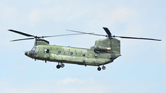 Boeing VERTOL CH-47D Chinook c/n M.3663 Netherlands Air Force serial D-663 (Erwin's photo's) Tags: luchtmachtdagen 2019 klu volkel the netherlands holland airshow aircraft air force days royal aviation boeing vertol ch47d chinook cn m3663 serial d663