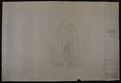 Holy_Name_Plans_00001 (Jesuits in Britain) Tags: holyname manchester drawing plan church societyofjesus