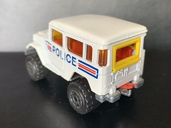 Majorette France - 200 Series - Number 277 - 4x4 Toyota / Toyota Land Cruiser - Police Car / French National Police - Miniature Die Cast Metal Scale Model Emergency Services Vehicle (firehouse.ie) Tags: police toyota majorette landcruiser metal miniatures miniature model models car automobile coche cop cocy l'auto