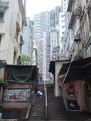 201905233 Hong Kong Central (taigatrommelchen) Tags: china street city urban building stairs hongkong central 20190522 temple