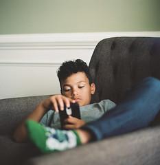 Unbothered Isaiah (Jason Mayers) Tags: bronicasqa mediumformat kodak portra160 120film filmcamera portrait family 6x6 80mm