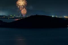 阿知須浦まつり花火大会 2019 #1ーFireworks Ajisu town, Yamaguchi city 2019 #1 (kurumaebi) Tags: yamaguchi 阿知須 山口市 nikon d750 夜 night 花火 fireworks sky sea