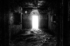 song.of.annihilation (jonathancastellino) Tags: abandoned derelict decay ruin ruins detroit mi usa leica light roomwire wires blast circle