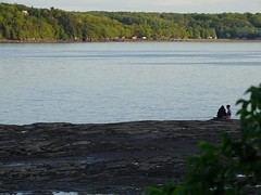 Calme - Quietness (J. Trempe 3,960 K hits - Merci-Thanks) Tags: caprouge quebec canada calme quiet eau water fleuve river stlaurent stlawrence