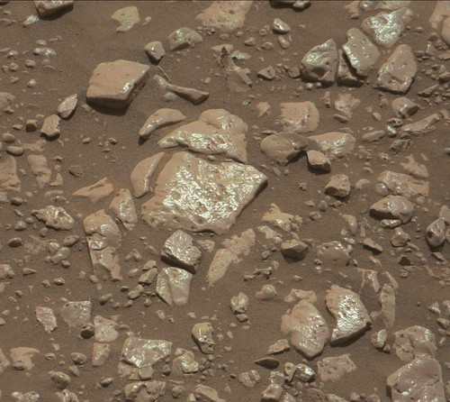 Curiosity mastcam R sol 2438 demosaicing