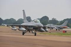 (scobie56) Tags: general dynamics f16a mlu fighting falcon esk 727 730 skrydstrup rdaf royal danish air force riat international tattoo