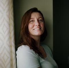 Jen (Jason Mayers) Tags: bronicasqa mediumformat kodak 120film 6x6 portra160 portrait wife family