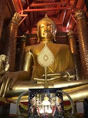 Buddha (ChalidaTour) Tags: thailand thai asia asian buddha statue temple gold gilden pray relifion