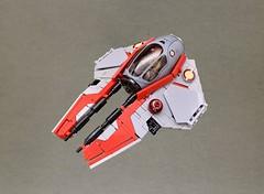 Obi Wan's Eta-2 Actis Interceptor