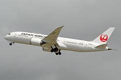 JA840J (afellows80) Tags: boeing b787 b788 dreamliner jal japan japanair japanairlines ja840j egll lhr heathrow
