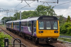 Northern 142055 (Mike McNiven) Tags: arriva railnorth northern dmu diesel multipleunit pacer wigan northwestern bolton mosesgate stalybridge