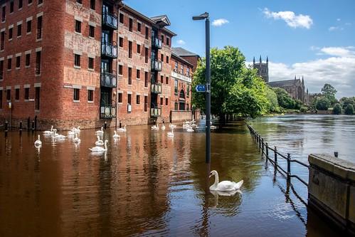 Worcester Floods June 2019