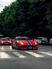 Red TDF (Mattia Manzini Photography) Tags: ferrari f12 tdf f12tdf supercar supercars cars car carspotting nikon d750 v12 automotive automobili auto automobile italy italia bologna ferraritribute millemiglia limited exotics