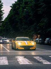 Yellow TDF (Mattia Manzini Photography) Tags: ferrari f12 tdf f12tdf supercar supercars cars car carspotting nikon d750 v12 automotive automobili auto automobile italy italia bologna ferraritribute millemiglia limited exotics