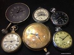 Time keepers (JSB PHOTOGRAPHS) Tags: img0068 pocket watches