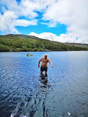 Silvermine Nature Reserve | Eddie Swimming (Toni Kaarttinen) Tags: southafrica africa cape capetown travel travelling holiday wanderlust westerncape mountains silvermine nature reserve silverminenaturereserve topless chest swimming shorts trunks