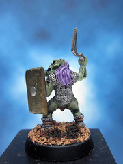 Goblin Warrior (Painted Miniatures) Tags: painted rafm miniatures goblin warriors