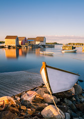 Blue Rocks, Nova Scotia (Jeremy Blue Photography) Tags: novascotia bluerocks landscape landscapephotography eastcoast eastcoastlifestyle canon7d canon1740mm atlantic fishingvillage dory sunset travel photography fishingshack seascape