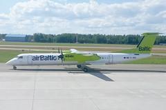 YL-BBV | Air Baltic | De Havilland Canada DHC-8-402Q Dash 8 | CN 4444 | Built 2013 | RIX/EVRA 09/06/2019 (Mick Planespotter) Tags: ylbbv air baltic de havilland canada dhc8402q dash 8 4444 2013 rix evra 09062019 aircraft airport dash8 riga prop turboprop dehavillandcanada 2019 starptautiskālidosta