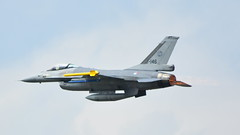 General Dynamics F-16AM Fighting Falcon c/n 6D-136 Netherlands Air Force serial J-146 (Erwin's photo's) Tags: the netherlands holland airshow air show aircraft volkel force ope day aviation airpower power jets luchtmachtdagen 2019 june juni 15 display static base klu luchtmacht general dynamics f16am fighting falcon cn 6d136 serial j146