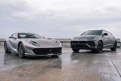 Ferrari 812 Superfast vs Lamborghini Urus (AM Photography Alfonso M) Tags: ferrari 812 superfast vs lamborghini urus amphotography amphoptography alfonsomartinez amazing cars lambo rarri sexy supercars super